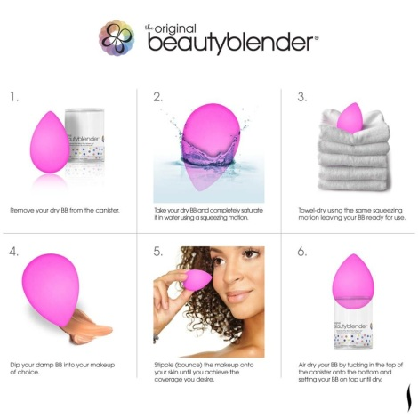 How to Use Your Beauty Blender